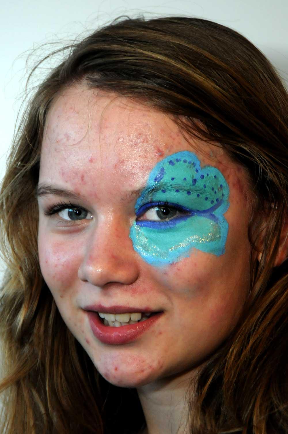 College Face Paint